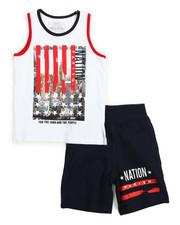 Boys - Tank Top & Sweat-short Set (4-7)