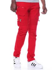 Men - Cargo Twill Pants