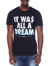 Shirts - S/S All A Dream Royal Tee