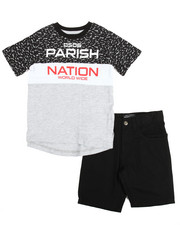 Parish - Tee & Denim Short Set (4-7)