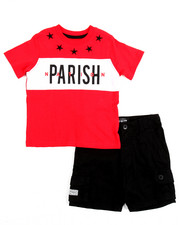 Sets - Tee & Cargo Short Set (2T-4T)