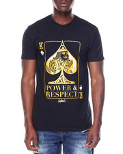 Shirts - S/S Power And Respect Tee