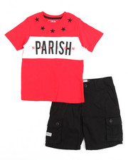 Boys - Tee & Cargo Short Set (4-7)