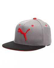 Boys - Evercat Solid Block Youth Flatbill Snapback Caps