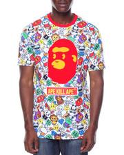 Shirts - Aka Cartoon Pattern Tee