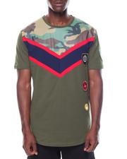Shirts - Camo Color Block Tee