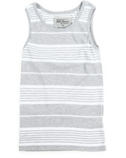 Boys - Yarn Dyed Stripe Tank Top (8-20)