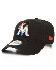 NBA, MLB, NFL Gear - 9Twenty MLB Core Classic Twill Miami Marlins Dad Hat