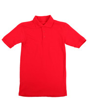 Short-Sleeve - Solid S/S Pique Polo (8-20)