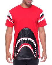 Men - Shark Teeth Trimmed Tee