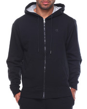 Champion - Powerblend Basic Full Zip Fleece Hood W Small