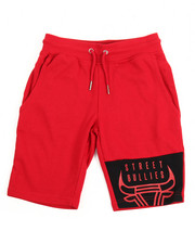 Arcade Styles - Street Bullies Patch Shorts (8-20)