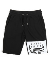 Boys - Street Bullies Patch Shorts (8-20)