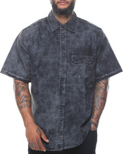 Big & Tall - Short Sleeve Denim Shirt (B&T)