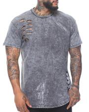 Men - Tie Dye Ripped Shirt (B&T)