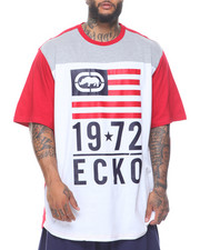 Ecko - Flag Stack Short Sleeve Tee (B&T)
