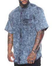 Button-downs - Short Sleeve Denim Shirt (B&T)