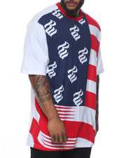 Rocawear - Flag Wave S/S Tee (B&T)