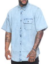 Men - Short Sleeve Denim Shirt (B&T)