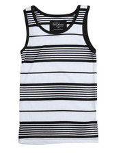 Arcade Styles - Yarn Dyed Stripe Tank Top (8-20)