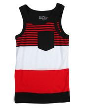 Tops - Yarn Dyed Stripe Tank Top (4-7)