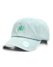 Men - Marijuana Leaf Dad Hat