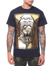 Buyers Picks - S/S Lion Savage Gold Foil Tee