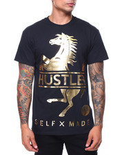 T-Shirts - S/S Hustler Gold Foil Tee