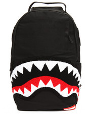 Accessories - Ghost Chenille Shark Backpack