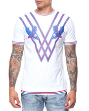 Buyers Picks - Eagle Embroidered Ribbed Bottom S/S Tee