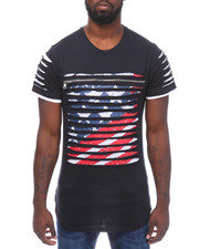 Men - Razor Slashed Americana S/S Tee