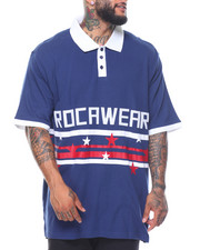Rocawear - Record S/S Polo (B&T)