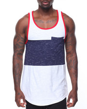 Buyers Picks - Slub Colorblock Tank