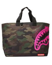 Bags - Pink Stencil Shark Camo Tote