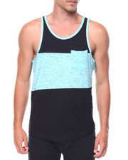 Buyers Picks - Slub Color Block Tank