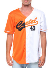 Buyers Picks - Color Block Baseball Jersey