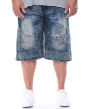 Men - Cult Moto Denim Shorts (B&T)