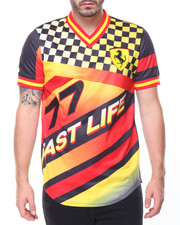 Shirts - Fast Life Baseball Jersey
