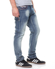 Buyers Picks - Embroidered Front Pkt Denim