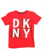 Boys - Dkny Logo S/S Tee (4-7)