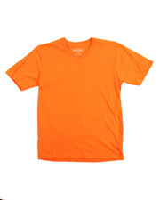 Boys - V-Neck Solid S/S Tees (8-20)