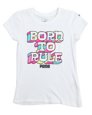 Puma - Born To Rule S/S Graphic Tee (7-16)