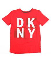 Tops - Dkny Logo S/S Tee (8-20)