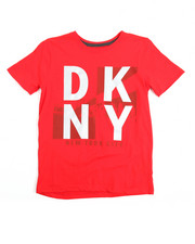 Boys - Dkny Logo S/S Tee (8-20)