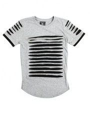 Boys - Zip Trim Razor Slashed Tee (8-20)
