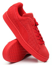 Footwear - Suede on Suede Sneakers