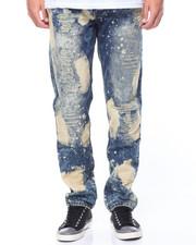 Men - Bleached Out Rip & Repair Jeans
