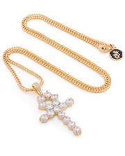 Men - 14k Gold Ankh Necklace