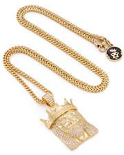 Men - 14k Gold King Of Kings Necklace