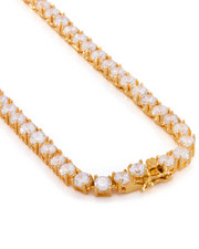 Men - 5mm Single Row Tennis Chain